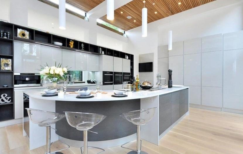 Desain Dapur Modern Mewah Terbaru