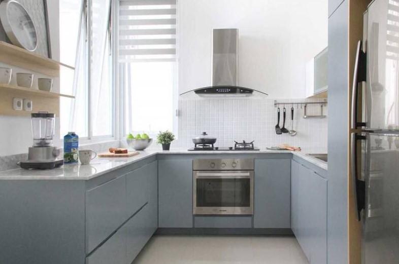 Desain Dapur Mungil Minimalis Modern