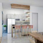 Desain Dapur Mungil Yang Cantik