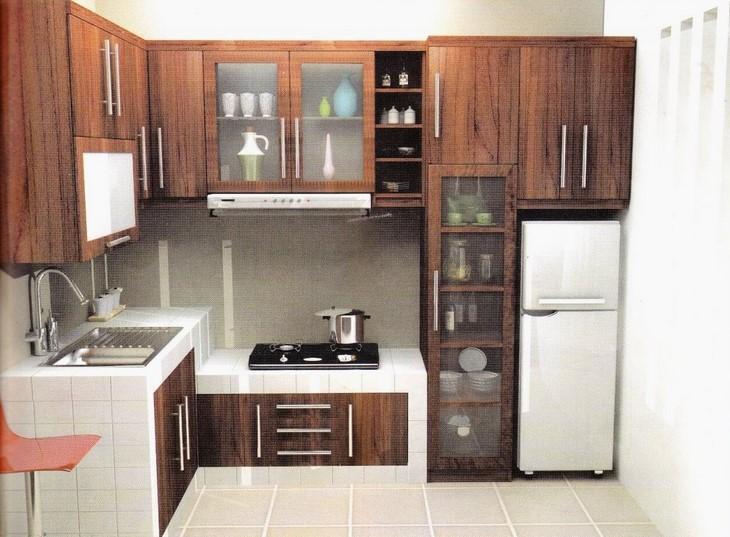 Desain Dapur Rumah Type 45