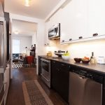 Desain Dapur Sempit Memanjang