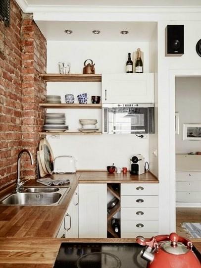 Desain Dapur Super Mungil