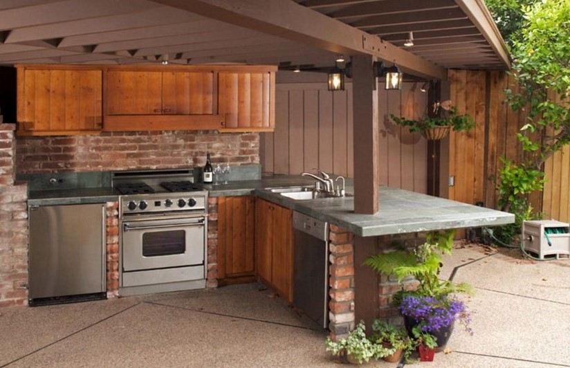 Desain Dapur Terbuka Modern