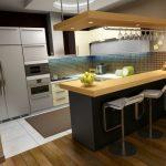 Desain Interior Dapur Klasik Modern