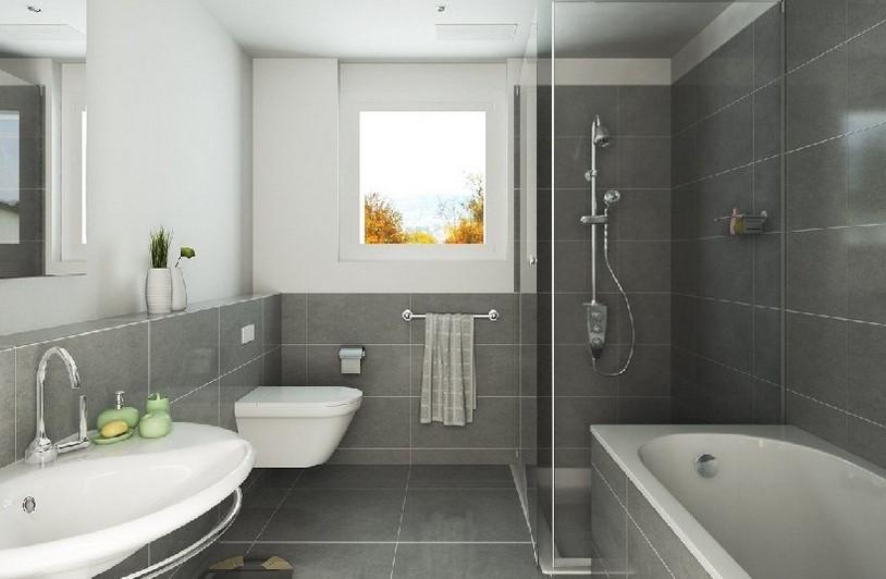 Desain Kamar Mandi Dengan Bathtub