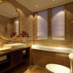 Desain Kamar Mandi Hotel Berbintang