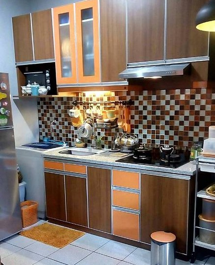 Desain Keramik Dapur Modern