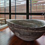 Desain Stone Bathtub