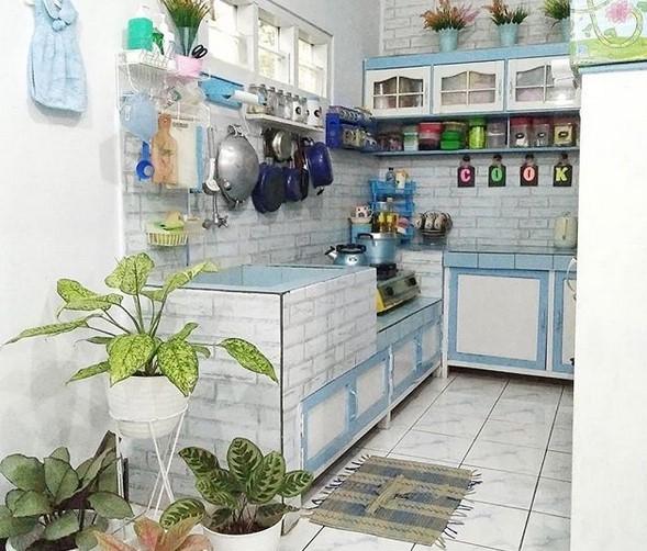 27 Desain Dapur Kecil Minimalis Yang Artistik Cantik