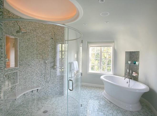 Gambar Kamar Mandi Pake Bathtub