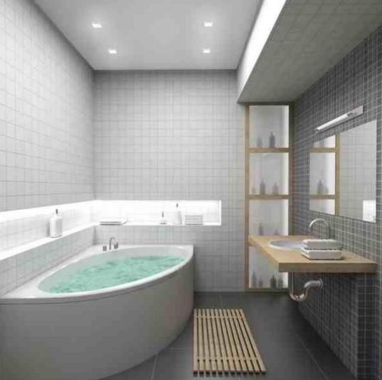 Kamar Mandi Bathtub Sederhana