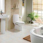 Kamar Mandi Minimalis Dengan Bathtub