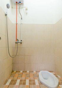 desain kamar mandi elegan ukuran 1×1