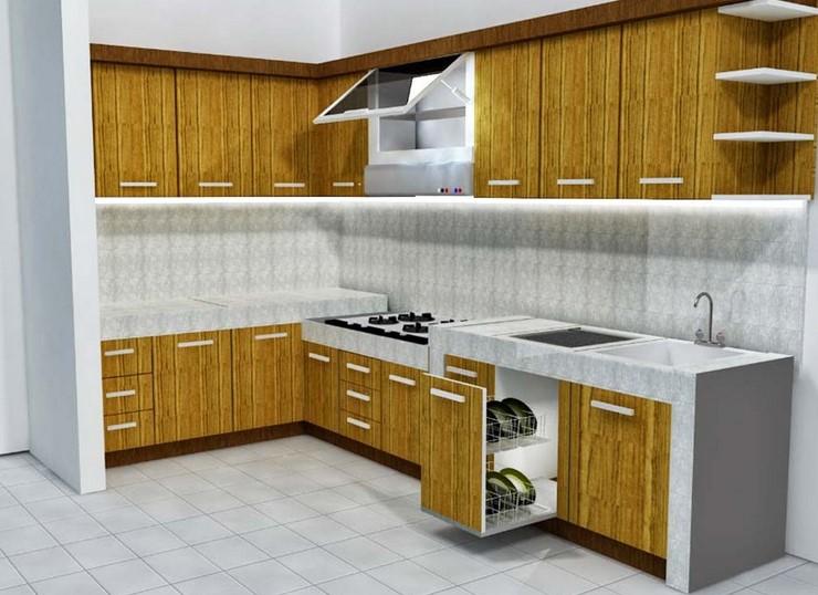 Lemari Dapur Minimalis Sederhana