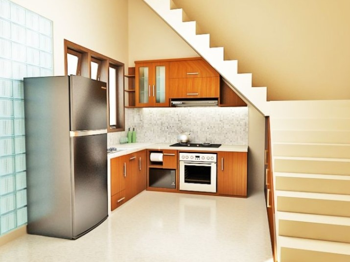 Model dapur minimalis hingga ketika ini masih menjadi primadona dan akan tetap terkenal hing 50+ Model Dapur Minimalis Modern Sederhana Terbaru 2019