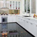 Model Dapur Minimalis Memanjang