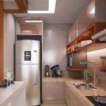 Model Dapur Panjang Minimalis