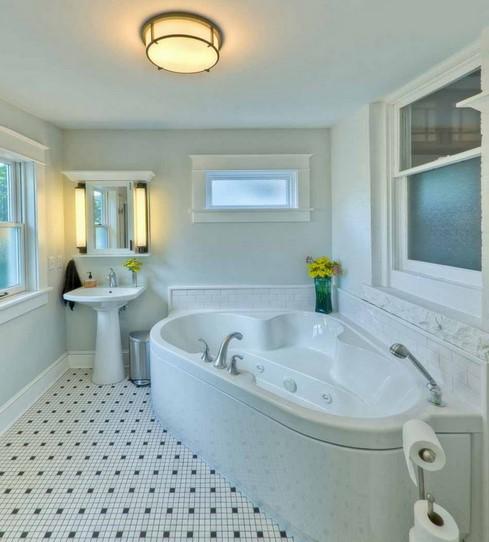 Ukuran Kamar Mandi Menggunakan Bathtub