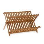 Bamboo Plate Rack Model