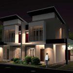 Bentuk Rumah Minimalis Modern 2 Lantai