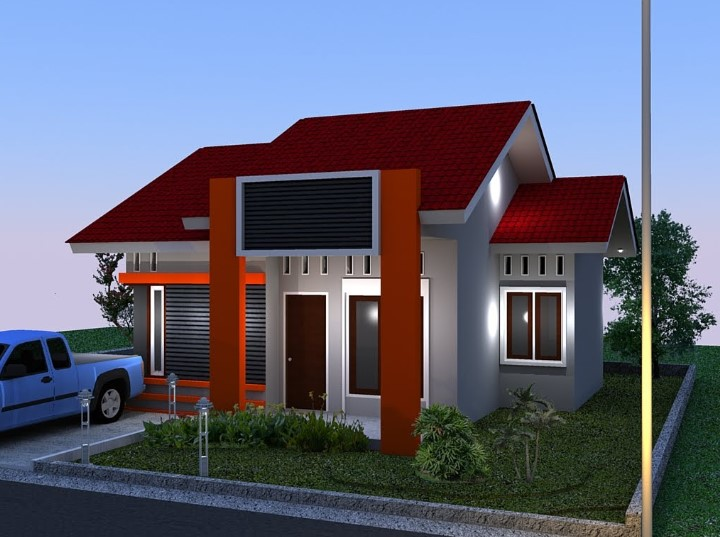 Contoh Model Rumah Sederhana Tapi Mewah