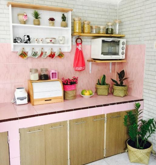 25 Inspirasi Contoh Rak Dapur Dinding