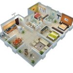 Denah Ruangan Rumah Sederhana Tapi Mewah