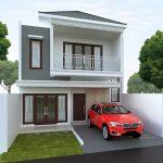 Desain Atap Rumah Minimalis Modern 2 Lantai