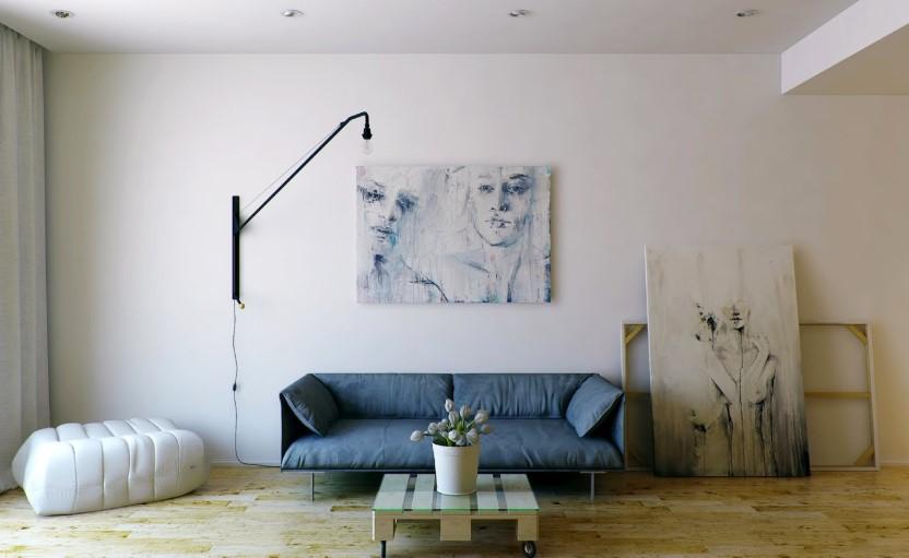 Desain Gypsum Ruang Tamu Minimalis