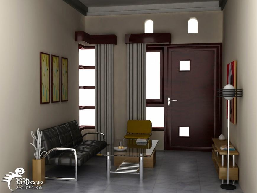 Desain Interior Dalam Rumah Minimalis Type 36