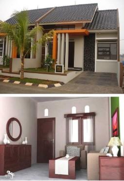 Desain Interior Dan Eksterior Rumah Type 36