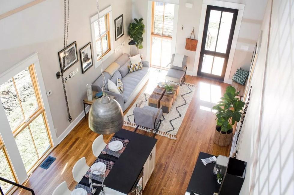 Desain Interior Ruang Keluarga Rumah Minimalis Type 36