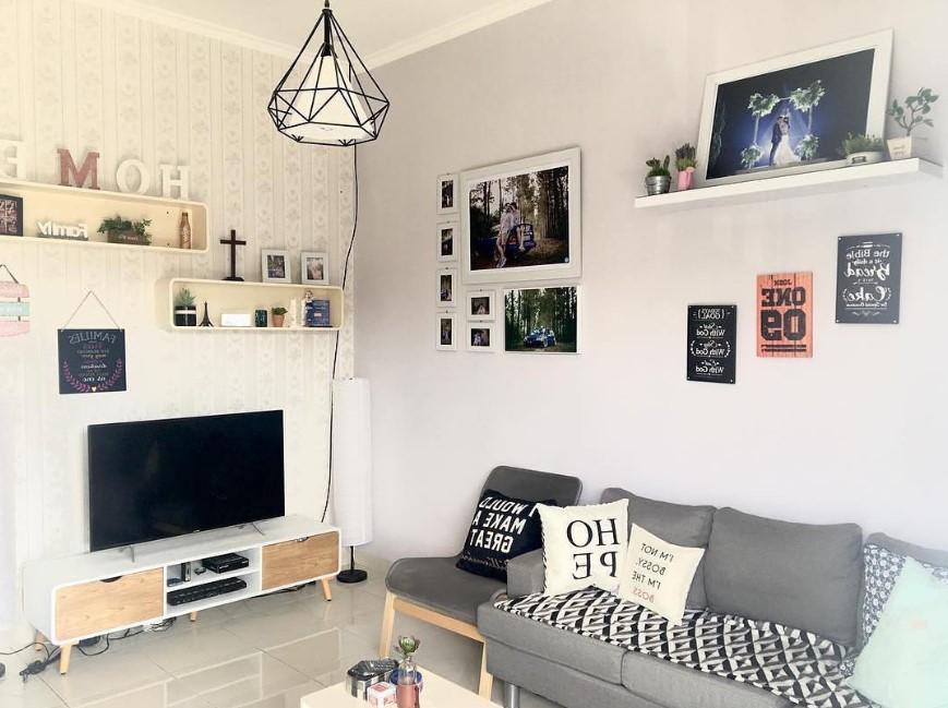 Desain Interior Ruang Tamu Gaya Minimalis