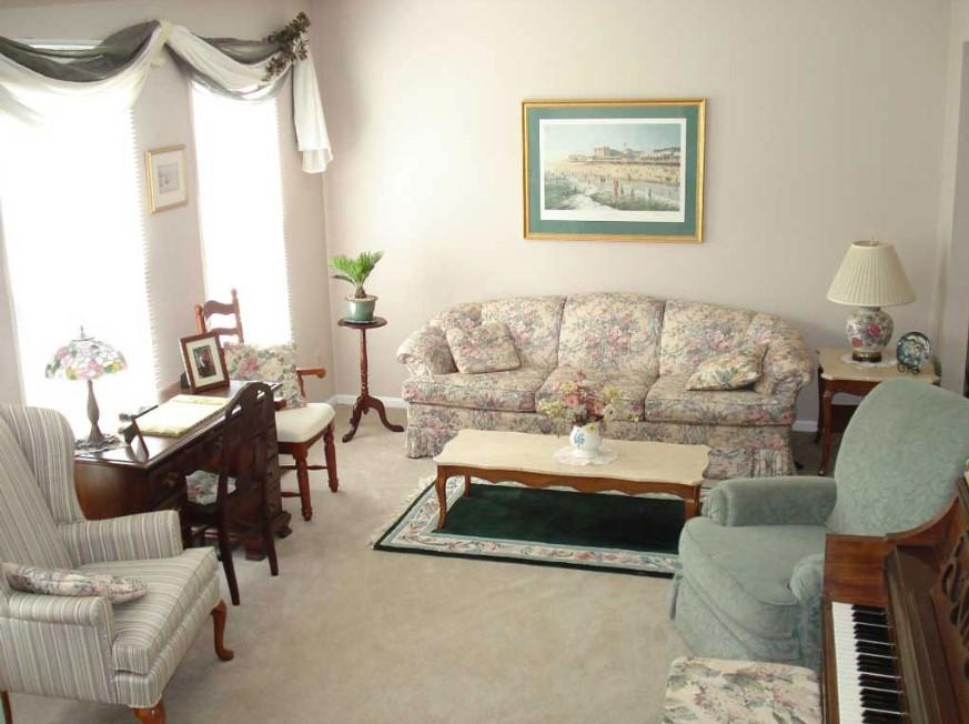 Desain Interior Ruang Tamu Klasik Minimalis