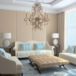 Desain Interior Ruang Tamu Mewah Minimalis