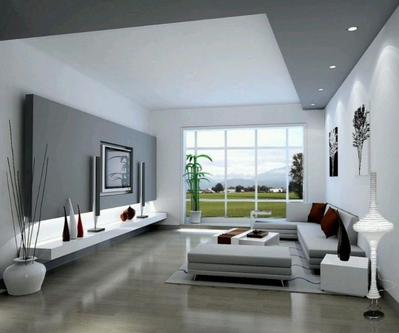 Desain Interior Ruang Tamu Minimalis Elegan