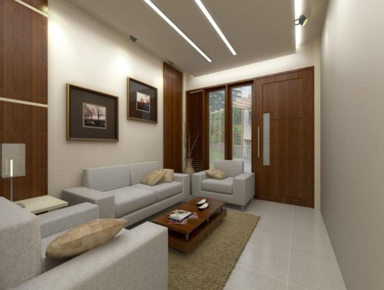 Desain Interior Ruang Tamu Minimalis Ukuran 3x3