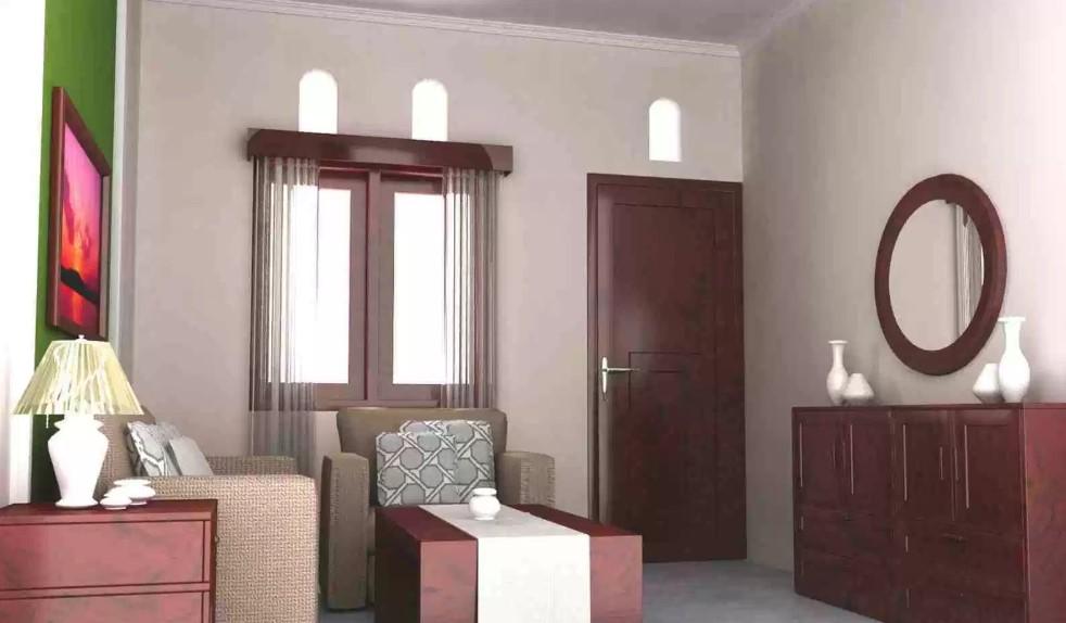 Desain Interior Ruang Tamu Rumah Minimalis Type 21