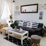 Desain Interior Ruang Tamu Rumah Minimalis Type 45