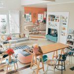 Desain Interior Ruang Tamu Vintage Minimalis