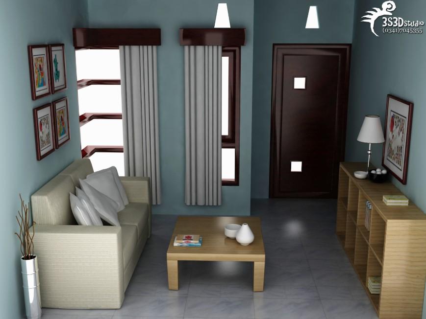 Desain Interior Rumah Type 36 1 Lantai