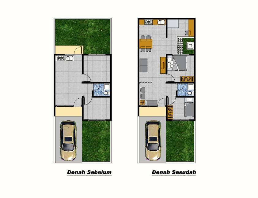 Desain Interior Rumah Type 36 66