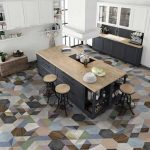 Desain Keramik Lantai Dapur Asia Tile