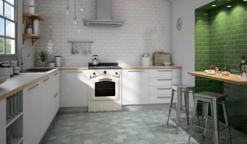 Desain Keramik Lantai Dapur Kasar