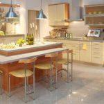Desain Keramik Lantai Dapur Polos