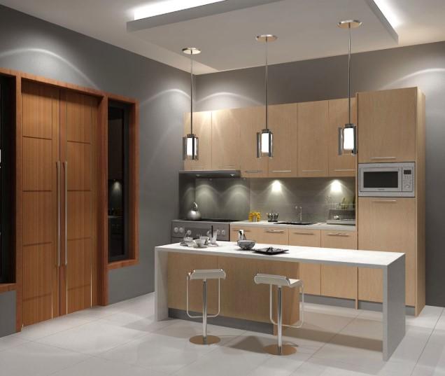 Desain Keramik Lantai Dapur Sederhana