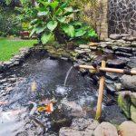 Desain Kolam Ikan Air Mancur