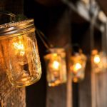 Desain Lampu Taman Minimalis Mason Jar