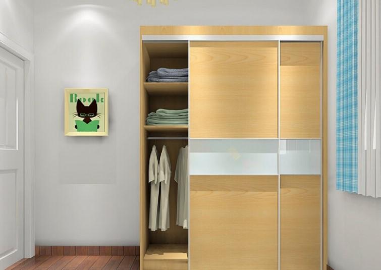 Desain Lemari Pakaian 2 Pintu Terbaru