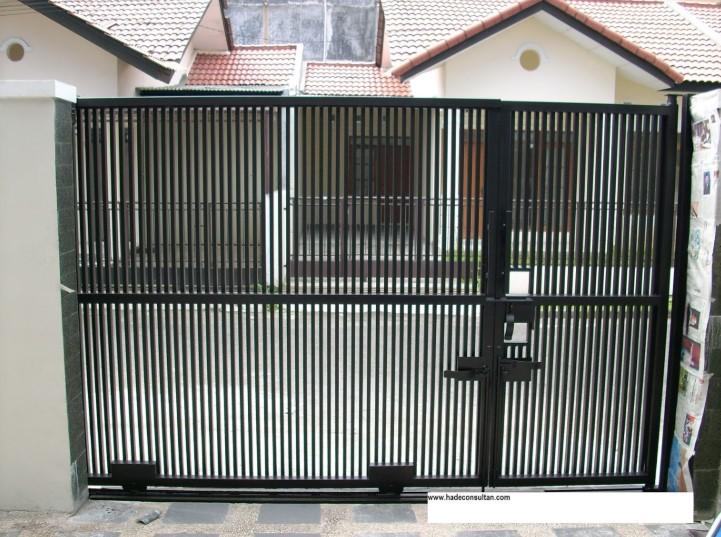 Pagar Rumah Minimalis Besi Holo Dhigjaya Steel